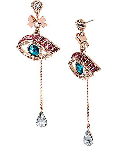 MYSTERIOUS EYE LINEAR EARRING MULTI