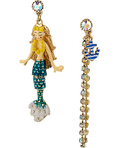 NAUTICAL MERMAID MISMATCH EARRING MULTI