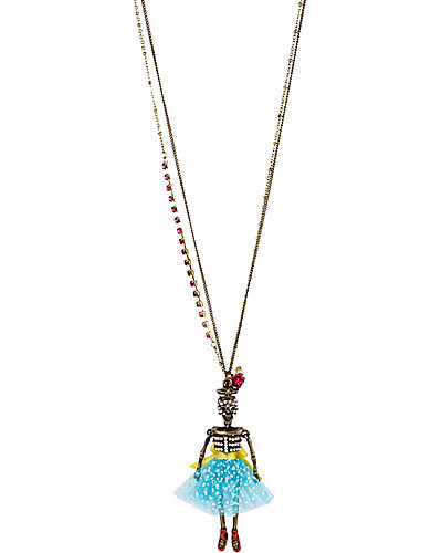 NAUTICAL SAILOR GIRL PENDANT MULTI