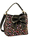 NEW HOPELESS ROMANTIC BUCKET TOTE BLACK MULTI