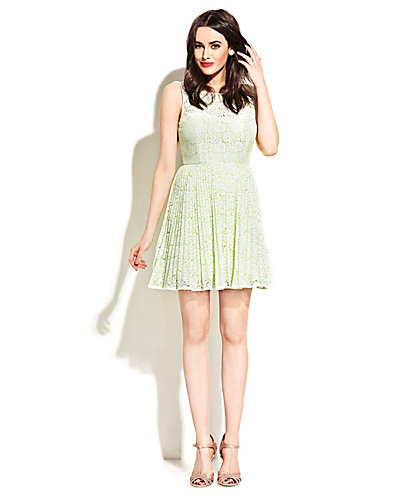 NEW LOW CUT BACK PARTY DRESS GREEN