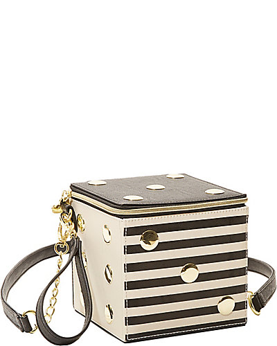NOD TO MOD CONVERTIBLE WRISTLET BLACK WHITE