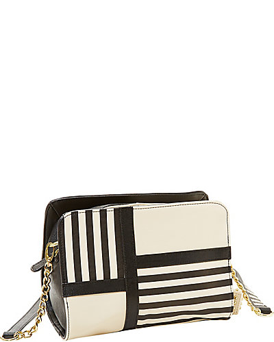 NOD TO MOD CROSSBODY BLACK WHITE