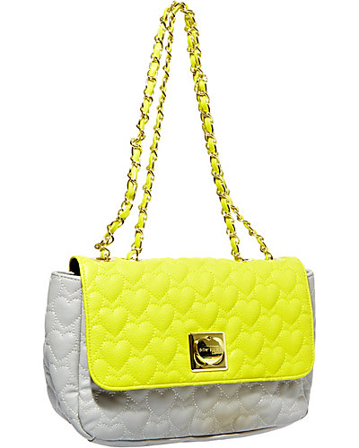 ONE AND ONLY FLAPOVER BAG YELLOW-MULTI