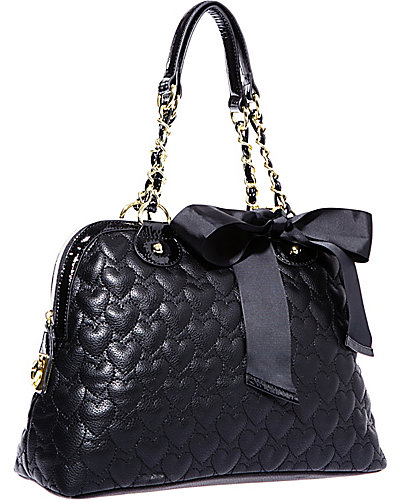 ONE AND ONLY NOW DOME BAG BLACK