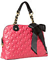 ONE AND ONLY NOW DOME BAG FUCHSIA