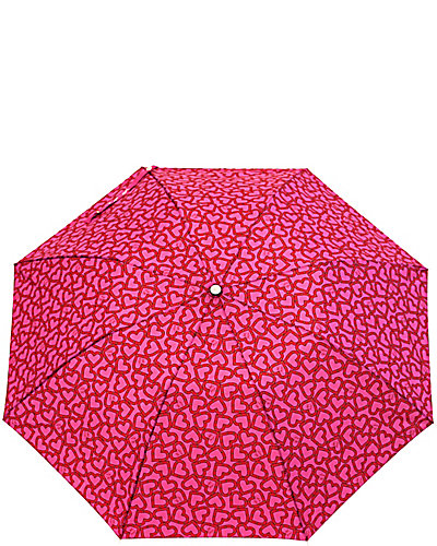OPEN HEART AUTO OPEN UMBRELLA PINK