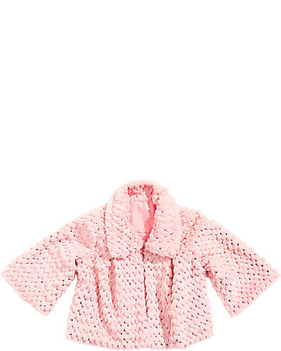 OUT OF SEQUINS TRAPEZE JACKET PINK