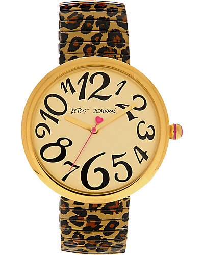 OVERSIZED LEOPARD WATCH LEOPARD