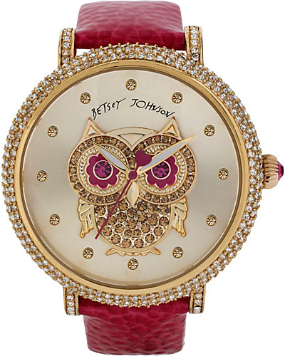 OWL HOT PINK STRAP WATCH PINK