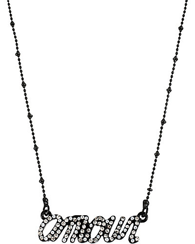 PARIS AMOUR NECKLACE BLACK