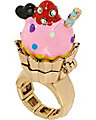 PARIS CUPCAKE STRETCH RING PINK