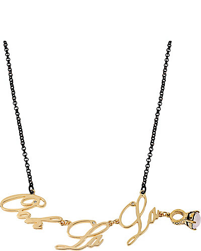 PARIS OOH LA LA NECKLACE GOLD