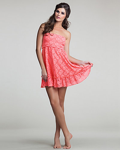 PETTICOAT STRAPLESS COVER UP PEACH