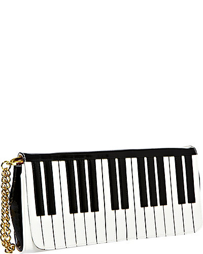 PIANO WRISTLET BLACK-WHITE