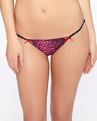 PRETTY PIN UP BIKINI LEOPARD