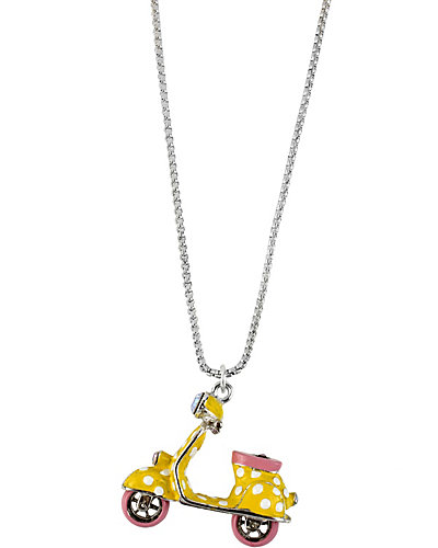 POLKA DOT VESPA YELLOW PENDANT YELLOW