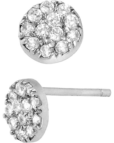 PRECIOUS LUXURIES CIRCLE EARRING CRYSTAL