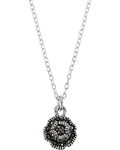 PRECIOUS LUXURIES ROSE PENDANT METALLIC