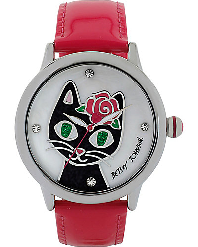 PRETTY KITTY WATCH PINK