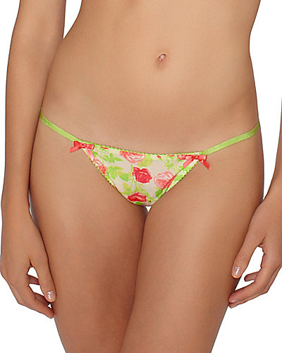 PRETTY PIN UP BIKINI FLORAL MULTI