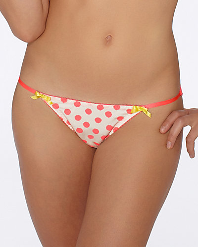 PRETTY PIN UP BIKINI WHITE MELON