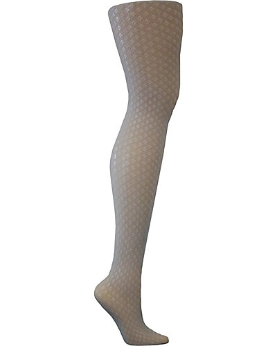 PRETTY POINTELLE NET TIGHTS GREY