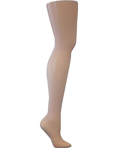 PRETTY POINTELLE NET TIGHTS NUDE