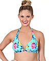 PRIMA ROSE HALTER TOP MULTI