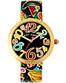PRINTED FRUIT STRAP WATCH MULTI