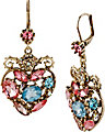 PROM PARTY MULTI HEART DROP EARRING MULTI