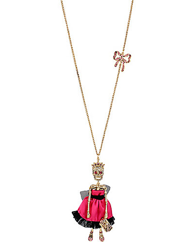 PROM PARTY SKULL PROM GIRL PENDANT MULTI