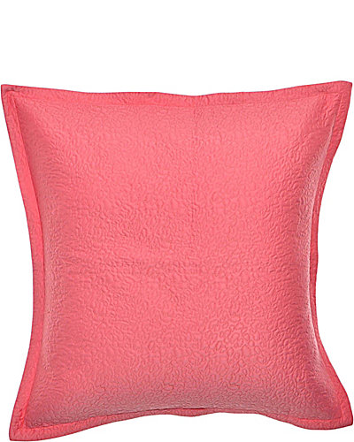 PUNK PRINCESS ANIMAL QUILTED EURO SHAM PINK
