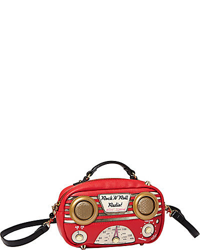 RADIO CROSSBODY RED