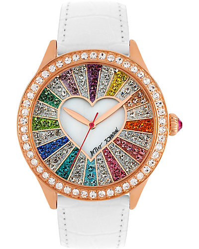 RAINBOW CRYSTAL FACE WATCH MULTI