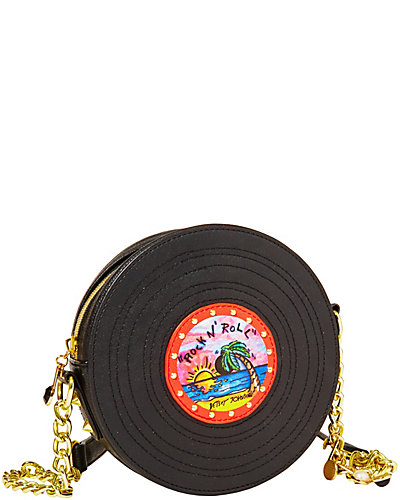 RETRO RECORD CROSSBODY BLACK