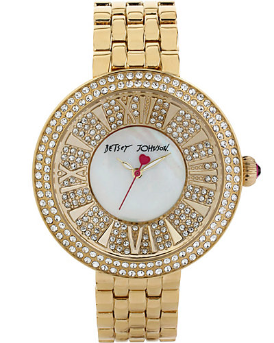 ROMAN NUMERAL GOLD WATCH GOLD