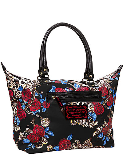 ROSEY MIX UP SATCHEL BLACK
