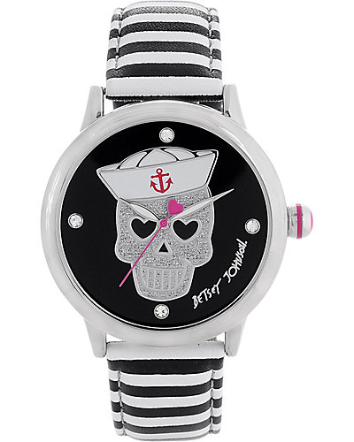SAILOR SKULL DIAL WATCH BLACK