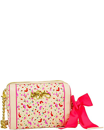 SCARF FACE CROSSBODY CREAM MULTI