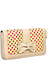 SCUBA GAL PERFORATE WALLET YELLOW-MULTI