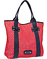 SCUBA GAL PERFORATED TOTE RED MULTI