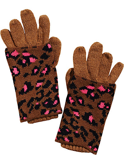 SEEING SPOTS 2-IN-1 GLOVES BROWN