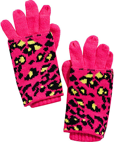 SEEING SPOTS 2-IN-1 GLOVES MAGENTA