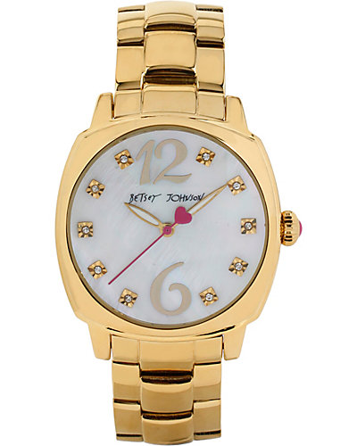 SIMPLE BETSEY GOLD WATCH GOLD