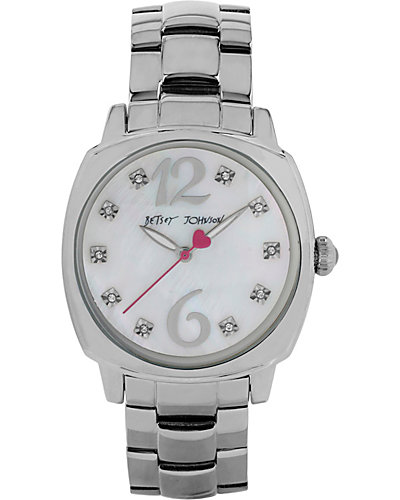 SIMPLE BETSEY SILVER WATCH SILVER