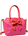 SINCERELY YOURS BOW TOTE PINK