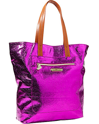 SNAP CRACKLE POP TOTE FUCHSIA