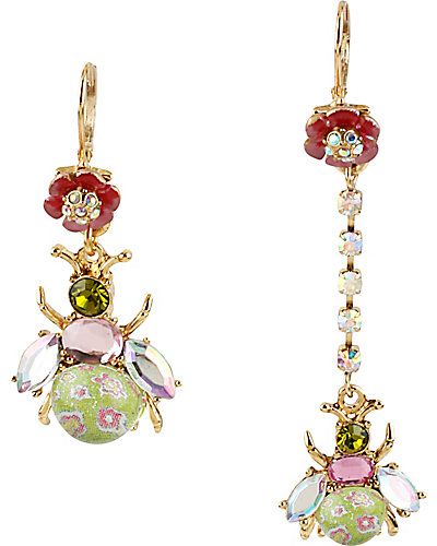 SPRING GLAM BUG MISMATCH EARRING MULTI