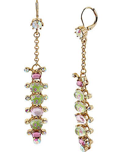 SPRING GLAM CATERPILLAR EARRING MULTI